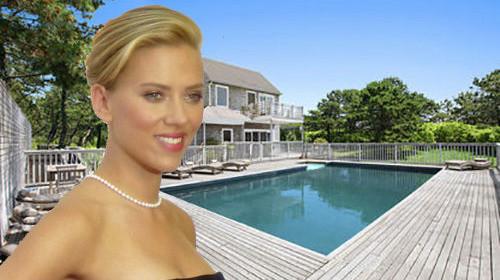 Scarlett Johansson's Buys in Amagansset